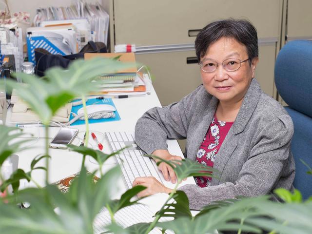 找到植物吸收養分的關鍵──專訪蔡宜芳