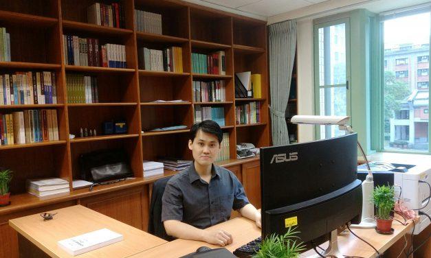 新進人員介紹—近代史研究所助研究員蘇聖雄博士