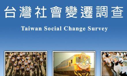 台灣社會變遷基本調查計畫ISSP 2020環境組預試