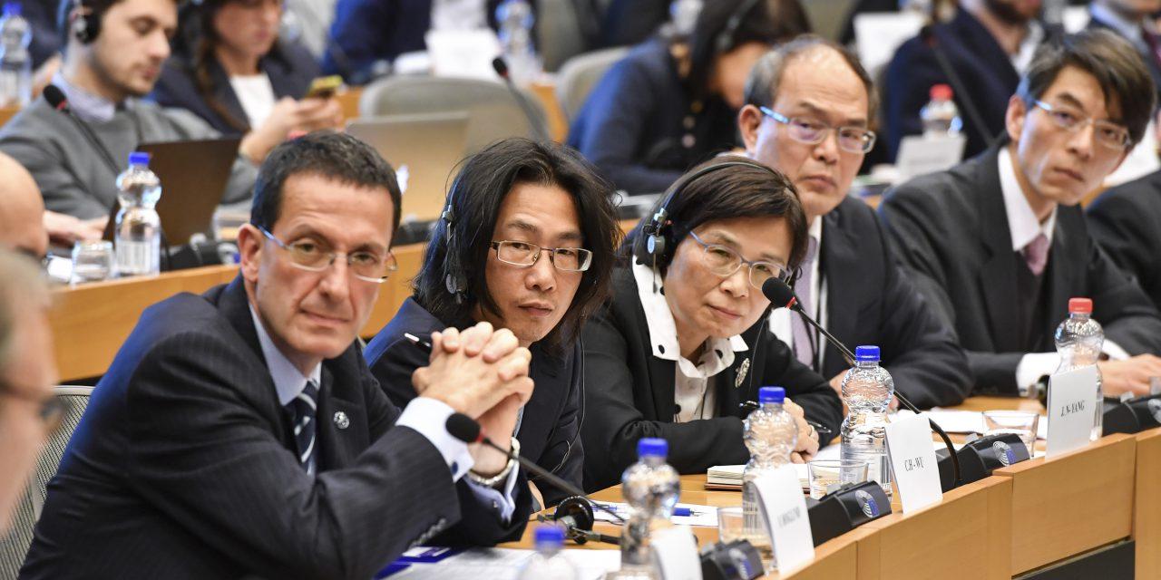 本院歐美所吳建輝副研究員參與歐臺經貿關係聽證會