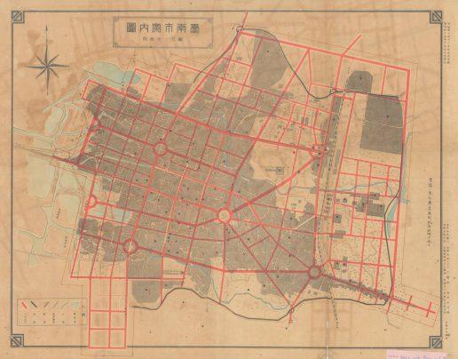 臺南為何圓環多?翻開《臺南歷史地圖散步》找原因