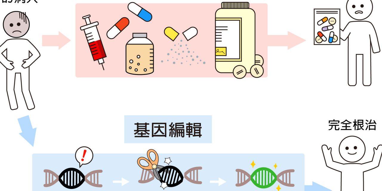 人體基因編輯是在編什麼?五分鐘搞懂基因神剪 CRISPR