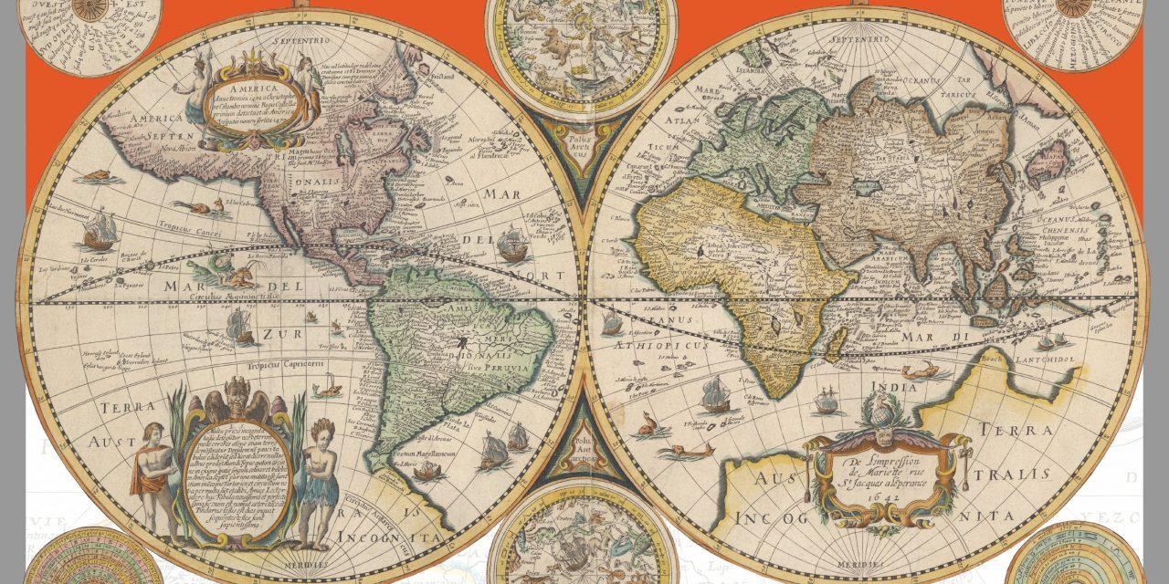 2019郭廷以學術講座─Completing the Map of the World, 1644: Cartographic Exchange between China and Europe