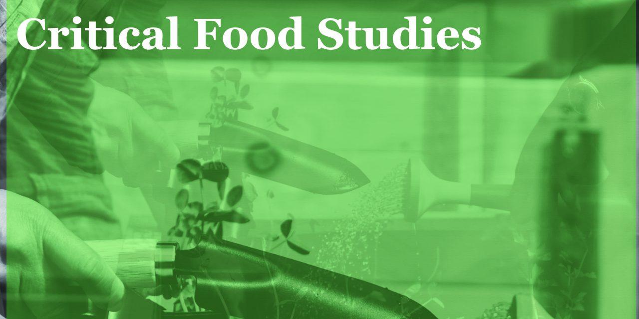 歐美所研討會:International Conference on Critical Food Studies