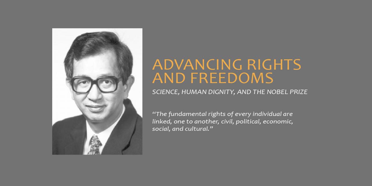 捍衛人權的科學家 李遠哲院士獲美國國家科學院表彰